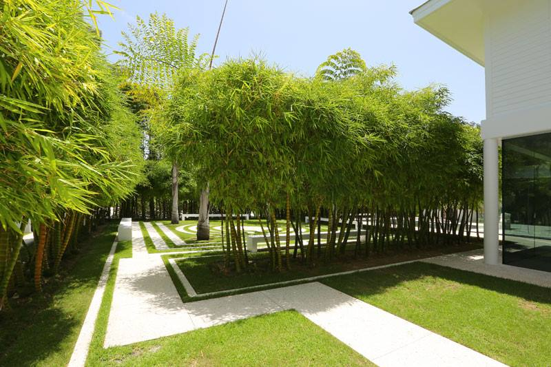 interesting bamboo garden design garden design 7 - Garden Design Using Bamboo